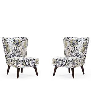 Greta Lounge Chair Set of 2 (Muted Lime)