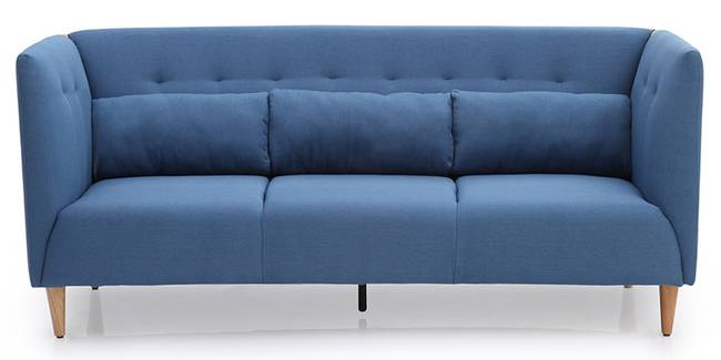 Redford Sofa (Mykonos Blue) (Mykonos Blue, Fabric Sofa Material, Regular Sofa Size, Regular Sofa Type)