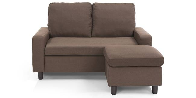 Condesa Sectional Sofa (Caribou Brown) (Fabric Sofa Material, Regular Sofa Size, Sectional Sofa Type, Caribou Brown)