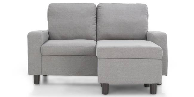 Condesa Sectional Sofa (Cinder Grey) (Cinder Grey, Fabric Sofa Material, Regular Sofa Size, Sectional Sofa Type)