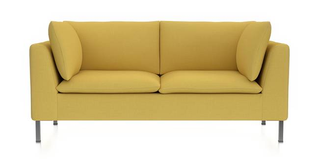 Bau Modular Sofa (Cornsilk Yellow) (Fabric Sofa Material, Regular Sofa Size, Modular Sofa Type, Cornsilk Yellow)