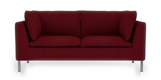 Bau Modular Sofa (Sangria Red) (Sangria Red, Fabric Sofa Material, Regular Sofa Size, Modular Sofa Type)