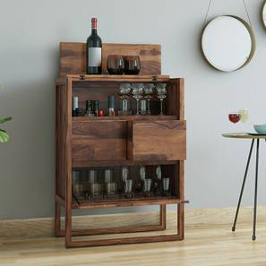 Bar cabinet designs for home wooden bar unit portable for Wooden bar unit