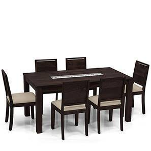 brighton oribi 6 seater dining table set - Dining Table With Chairs