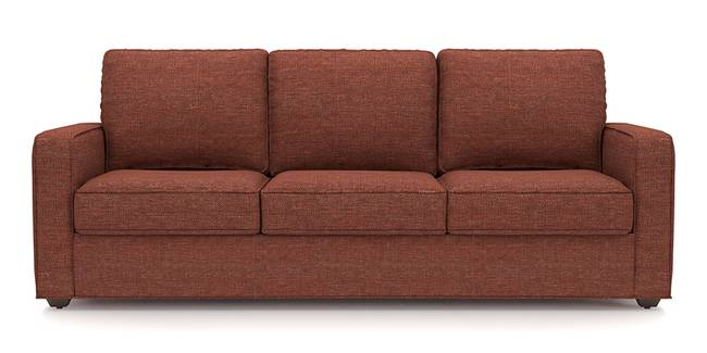 Apollo Sofa (Lava, Fabric Sofa Material, Compact Sofa Size, Soft Cushion Firmness, Regular Sofa Type, Master Sofa Component)
