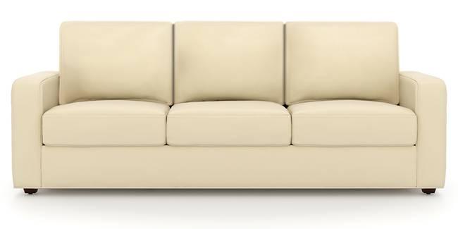 Apollo Sofa (Cream, Leatherette Sofa Material, Regular Sofa Size, Soft Cushion Type, Regular Sofa Type, Master Sofa Component)