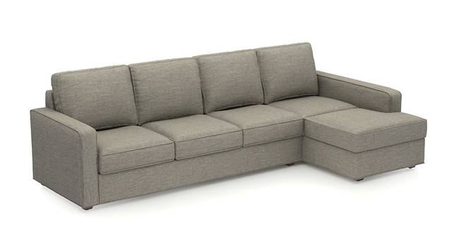 Apollo Sofa (Mist, Fabric Sofa Material, Compact Sofa Size, Soft Cushion Type, Sectional Sofa Type, Sectional Master Sofa Component)