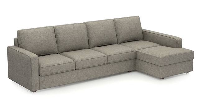 Apollo Sofa (Mist, Fabric Sofa Material, Regular Sofa Size, Soft Cushion Type, Sectional Sofa Type, Sectional Master Sofa Component)