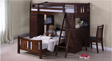 Bedroom kids bedroom  bunk beds
