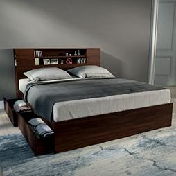 Bed designs buy latest modern designer beds urban ladder for New style bedroom bed design