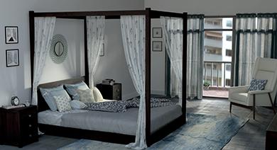 Striado 4 poster bed 11