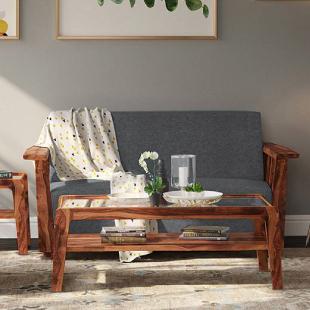 Serra Wooden Sofa