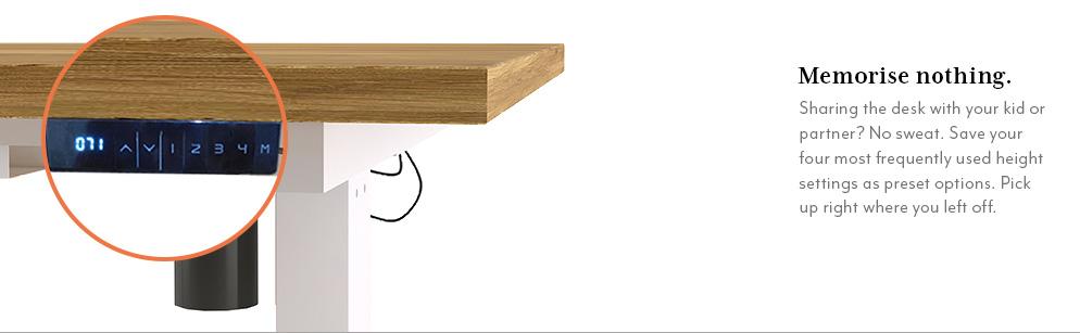 Philip Height Adjustable Standing Desk