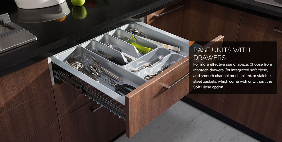Modular Kitchen Units - Base Cabinets
