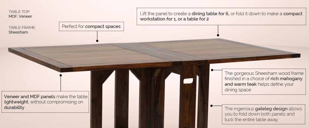 compact dining furniture. the danton dining table compact furniture c