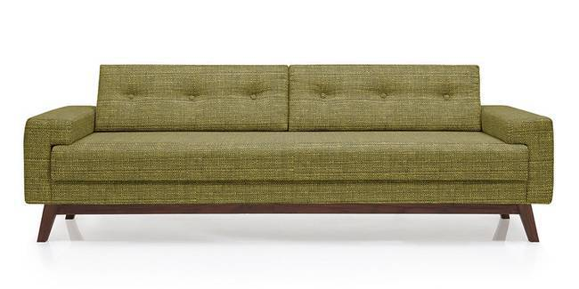 Venetti Sofa (Olive Green) (Olive, Fabric Sofa Material, Regular Sofa Size, Regular Sofa Type)