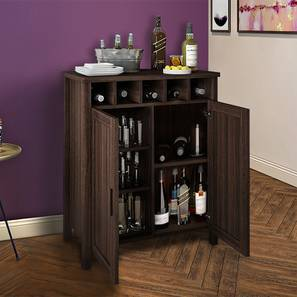 Norland Bar Cabinet (Dark Walnut Finish)