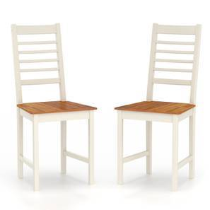 Maysville Dining Chairs - Set of Two (Golden Oak Finish)