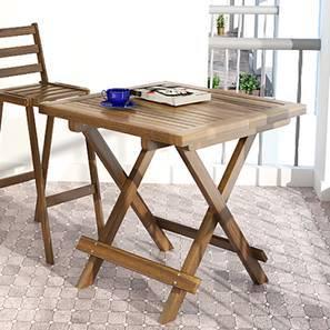 Balinae Folding Patio Table (Natural Acacia Finish)