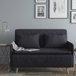 Makati Sofa Cum Bed (Dark Grey)