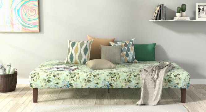 Mou Bed With Mattress (Gardenia) by Urban Ladder