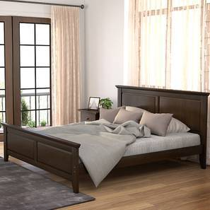 Somerset bed dark walnut king 00 lp
