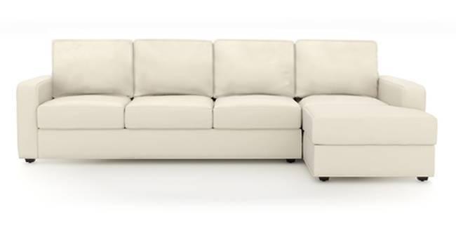 Apollo Sofa (Milk, Leatherette Sofa Material, Regular Sofa Size, Soft Cushion Type, Sectional Sofa Type, Sectional Master Sofa Component)