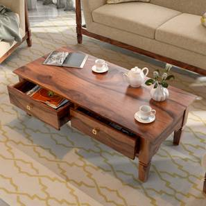 Malabar Storage Coffee Table (Teak Finish)