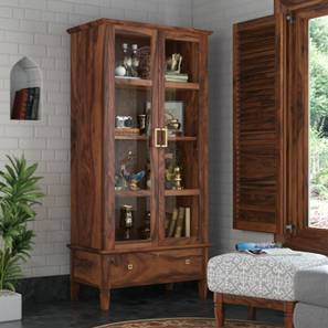 Malabar Display Cabinet (Teak Finish)