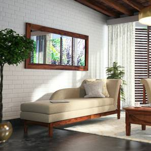 Malabar Chaise (Teak Finish, Left Aligned Chaise (Individual) Custom Set - Sofas, Macadamia Brown)