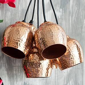 Sputnik Pendant Light Cluster (Copper Shade Finish, Cluster Arrangement)