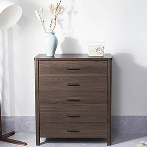 Norland Chest of Drawers (Dark Walnut Finish)