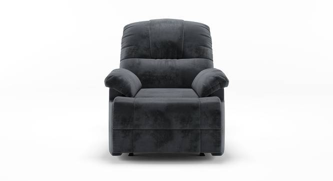 Cooper Rocker Recliner (Grey, Fabric Material) by Urban Ladder