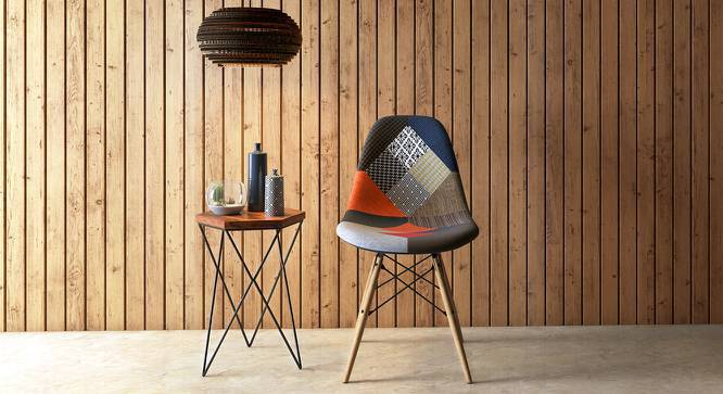 DSW Side Chair Replica (Patchwork) by Urban Ladder