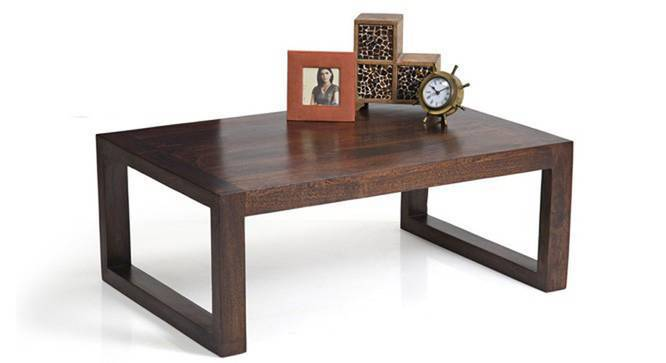 Altura Coffee Table (Walnut Finish) by Urban Ladder