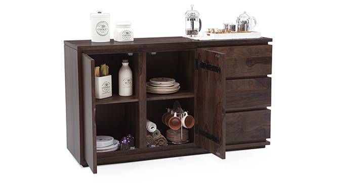 Vector XL Sideboard (Mahogany Finish) by Urban Ladder