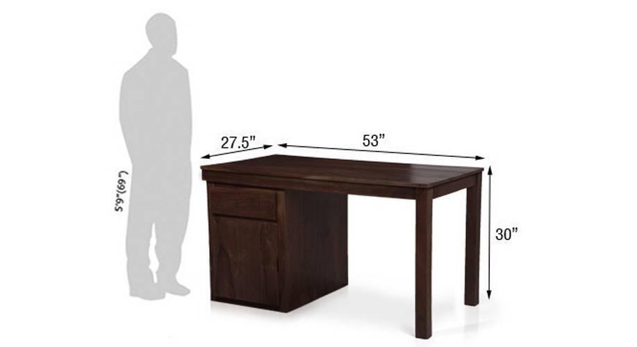Bradbury desk mahogany finish 11 mg 9999 76 m dimension