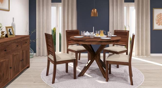 Marvelous Liana   Oribi 4 Seater Round Dining Table Set