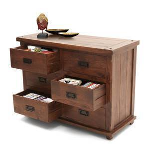 Lhasa Chest of Drawers (Teak Finish)