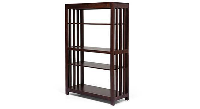 Alexandria Book Shelf (Mahogany Finish) by Urban Ladder