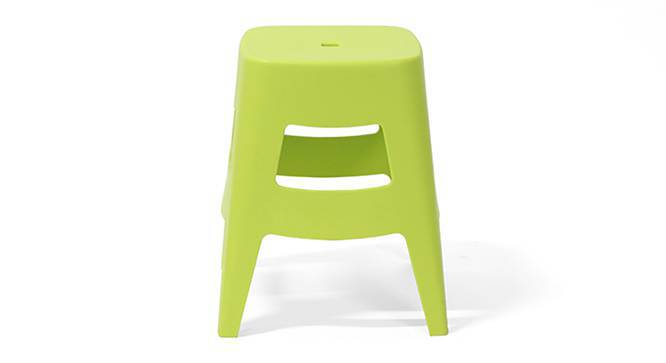 Flitwick Stool (Lime Green) by Urban Ladder