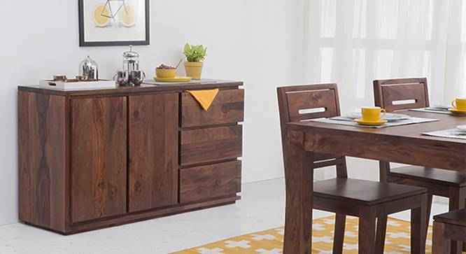 Vector XL Sideboard (Teak Finish) by Urban Ladder
