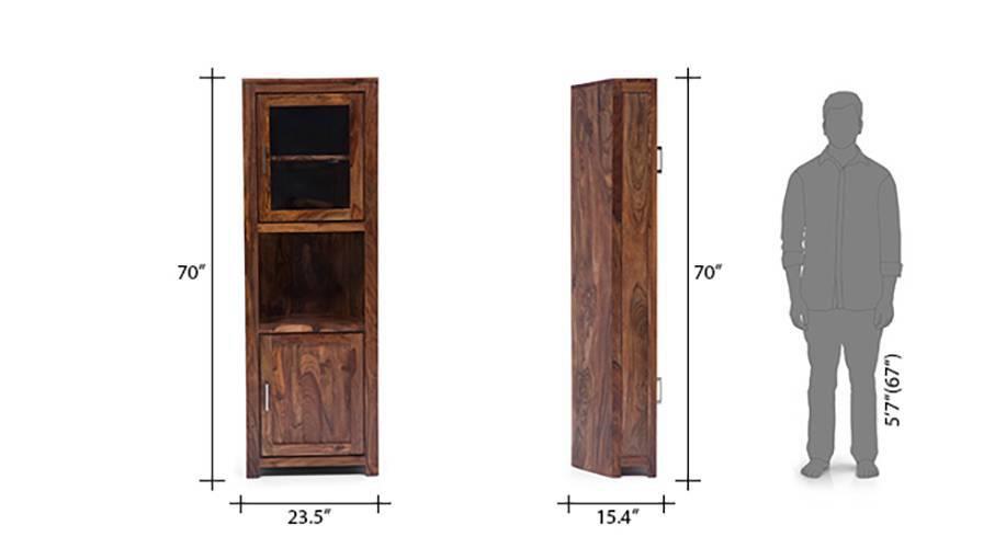 Murano two door corner cabinet 09