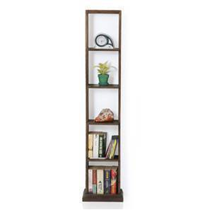 Babylon Floor/Wall Shelf (Walnut Finish) By Urban Ladder