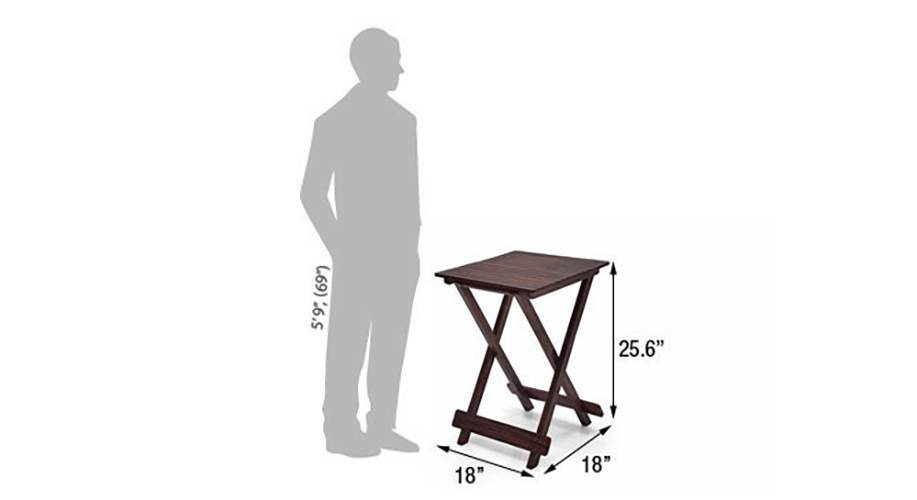 Latt folding table stool tall mahogany finish img 4750 msd 1