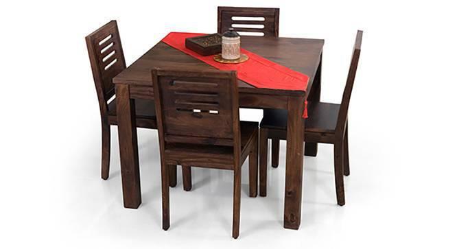 Arabia Square   Capra 4 Seater Dining Table Set