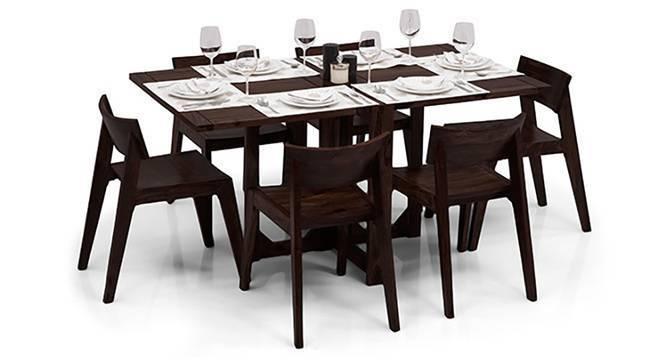 Danton 3 to 6 Gordon 6 Seat Folding Dining Table Set  : DantonFoldingDiningTableSetGordonChairsMahoganyFinish01IMG0178 from www.urbanladder.com size 666 x 363 jpeg 24kB