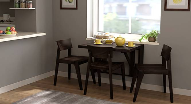Blaine Gordon 3 Seater Wall Mounted Dining Table Set Urban Ladder