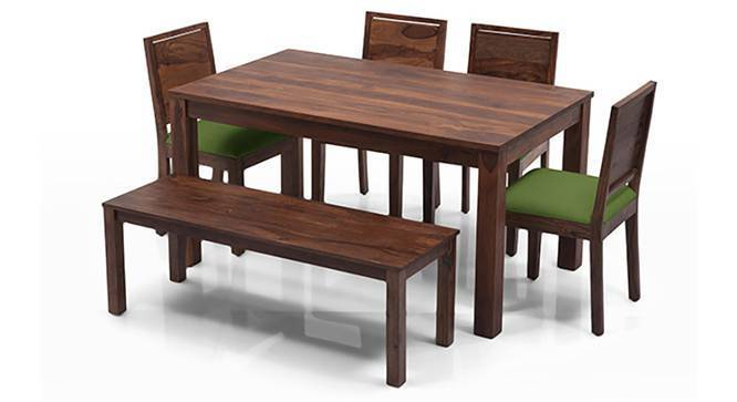 Dining Table Set arabia - oribi 6 seater dining table set (with bench) - urban ladder