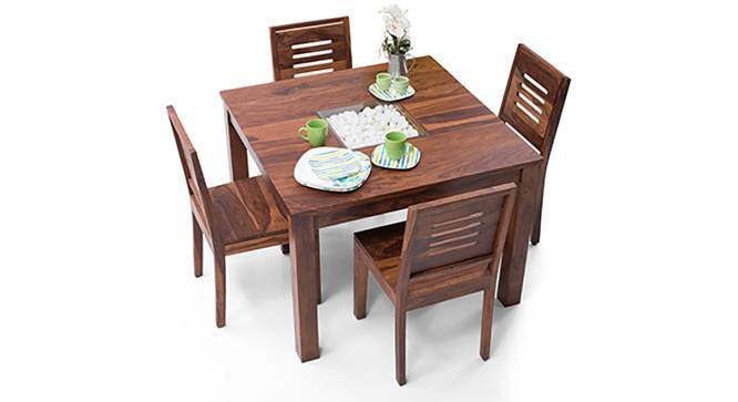 Brighton Square   Capra 4 Seater Dining Table Set